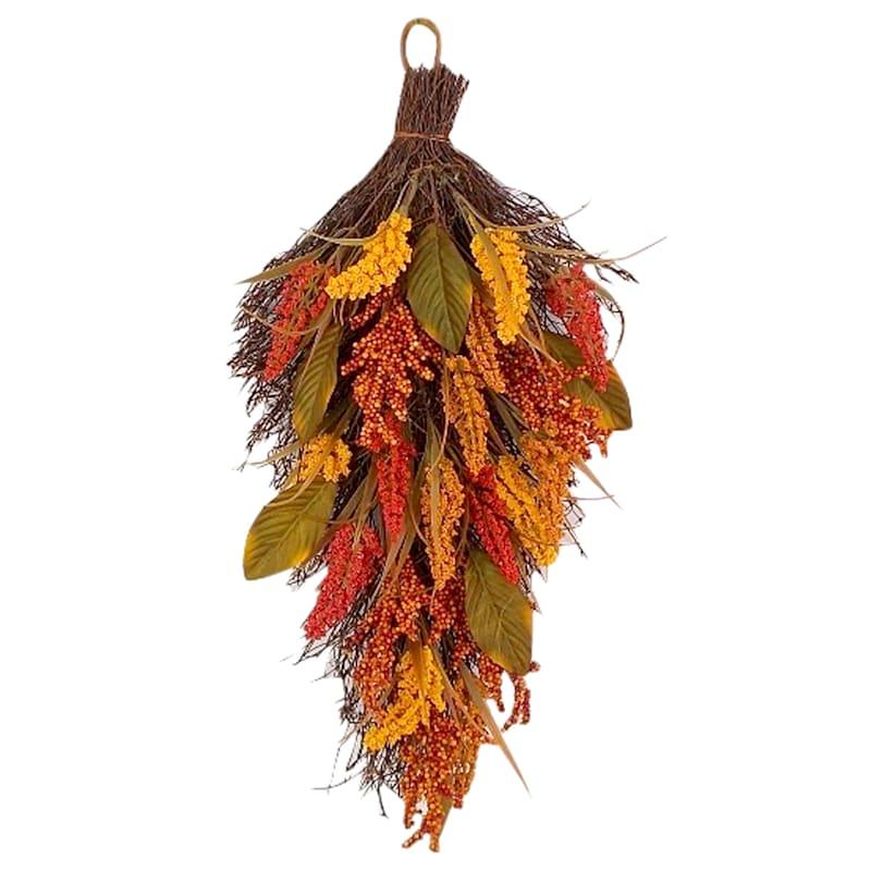 Assorted Heather Teardrop Hanging Arrangement