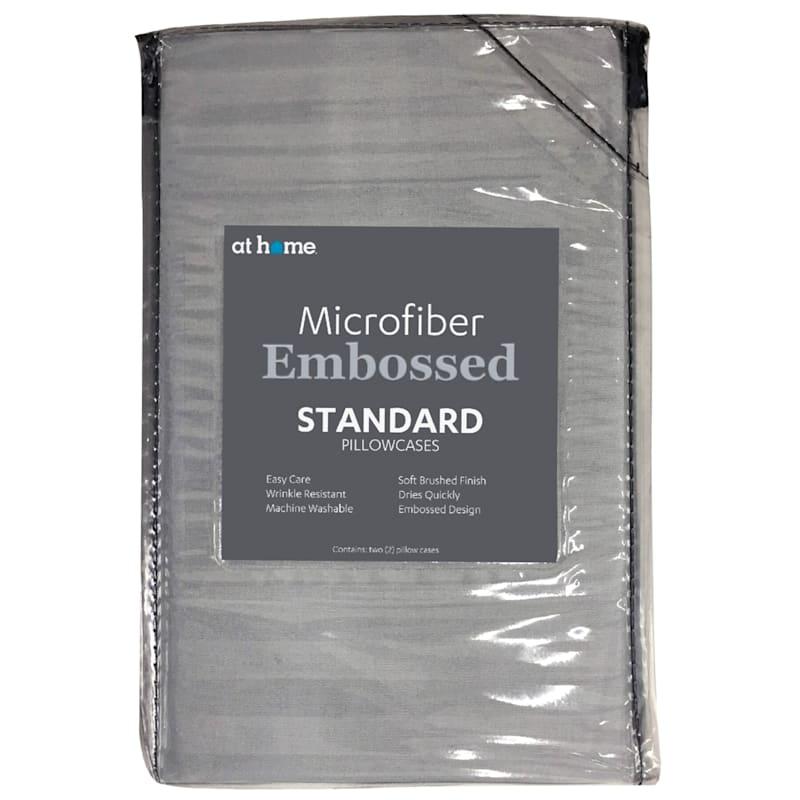 Green Microfiber 2-Piece Pillow Case Standard 20X26