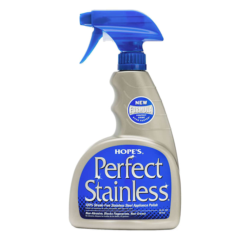 Hope's Perfect Stainless Steel Cleaner- 22 oz. Spray
