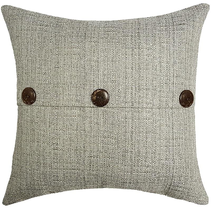Fiddlestix Outdoor Premium 18in. Square Button Pillow