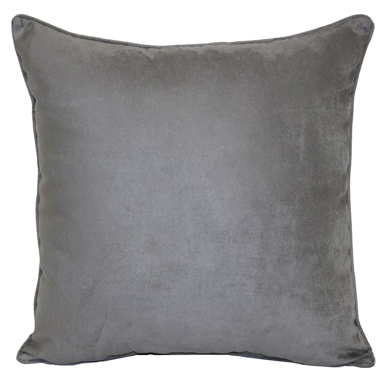 Drizzle Heavy Faux Suede Oversized Pillow 24X24