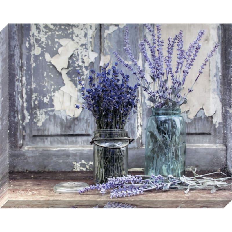 16X20 Abundance Of Beauty Textured Canvas