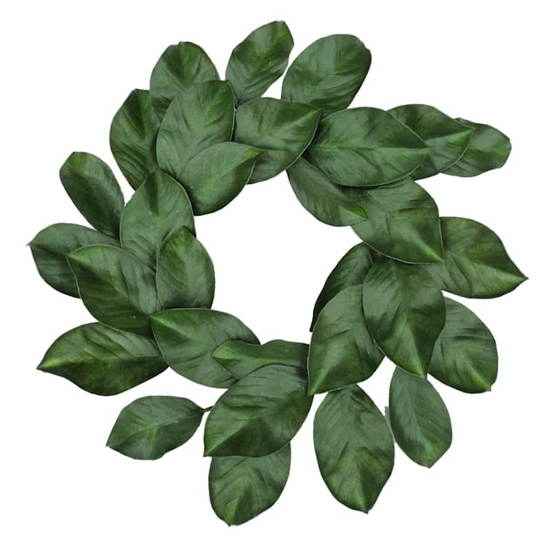 24in. Magnolia Leaf Wreath