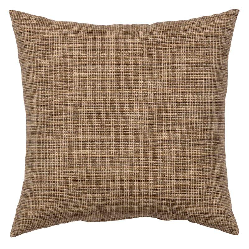 """Tallon Birch Outdoor  Square Pillow, 16"""""""