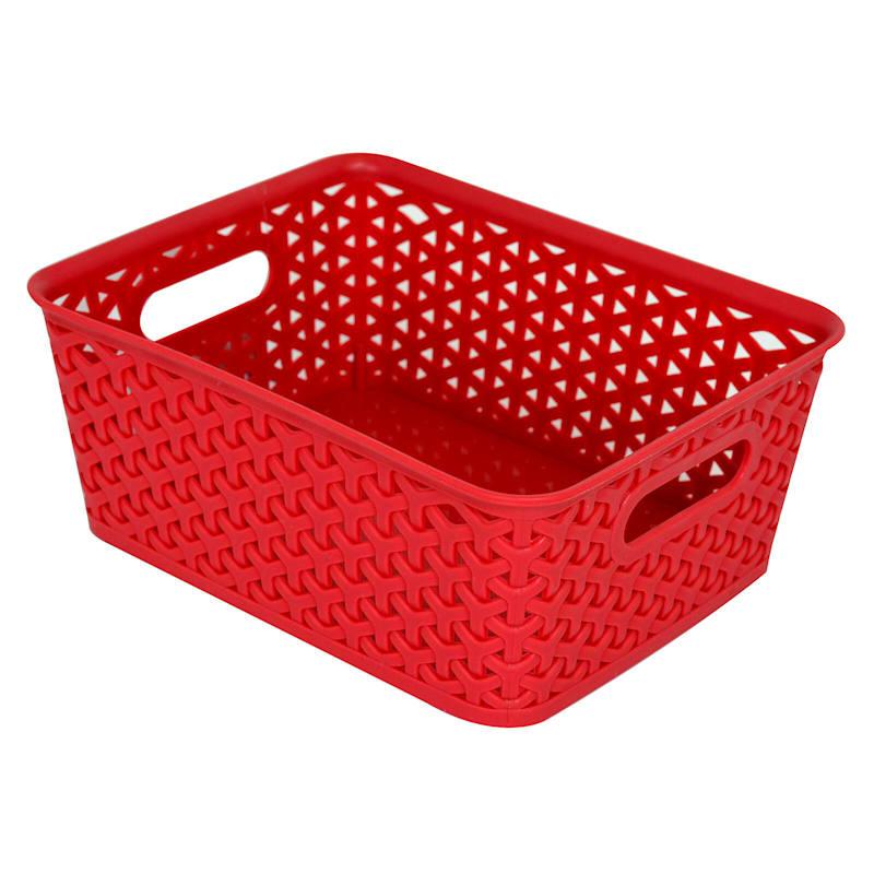 10X8 Basket Red