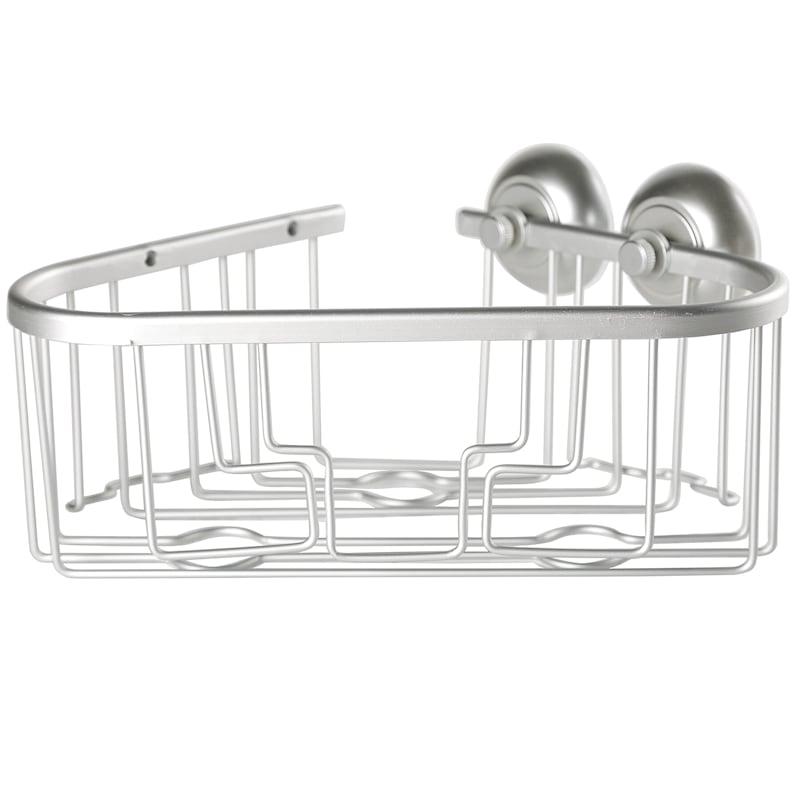 2 Baskets 1 Soap Tray 2 Hooks 2 Razor Holders Decorative Flower Design
