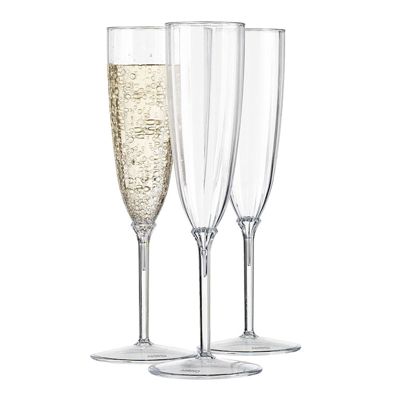 6oz Optic Champagne Glasses