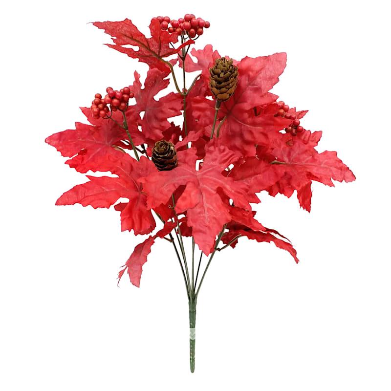 "Red Maple Bush, 19"""