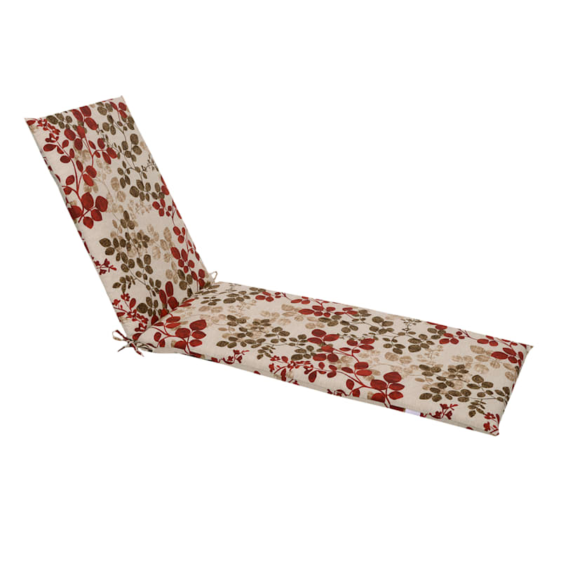 Cabrera Sangria Outdoor Chaise Lounge Basic Cushion