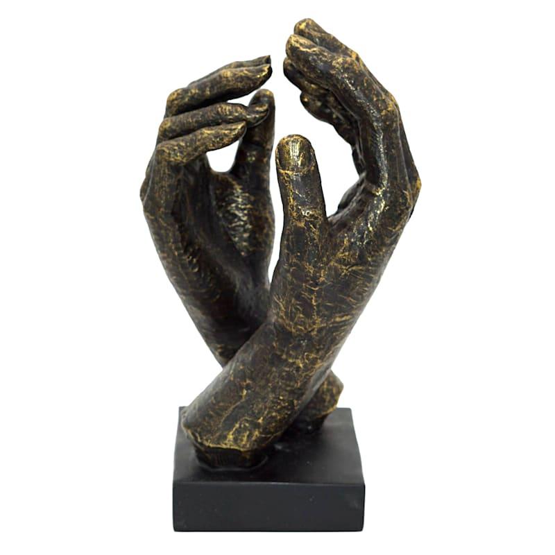 5X10 Polyresin Hand Decor