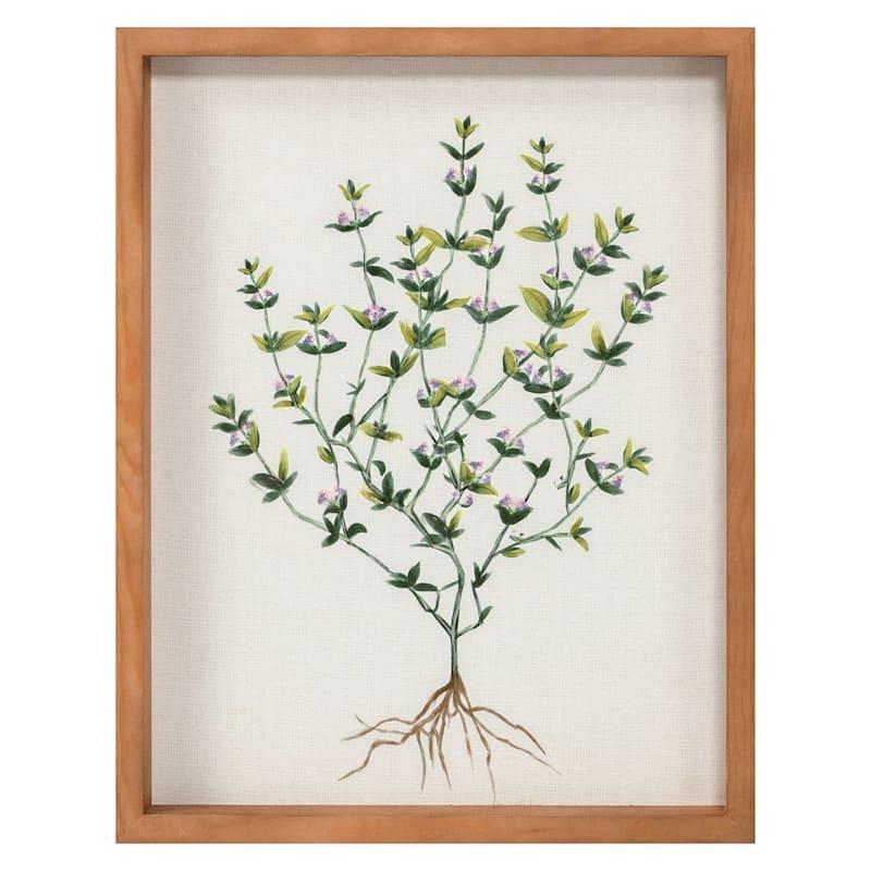 11x14 Framed Floral Canvas Wall Art