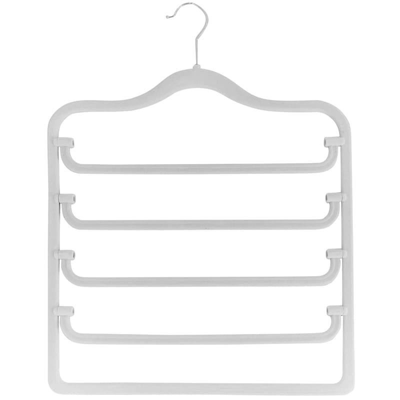 Velvet 4-Tier Pearl Pant Hanger