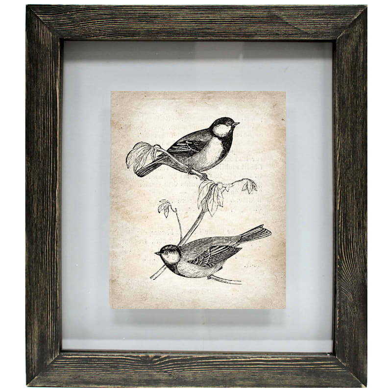 13In.X15In. Distressed Black Float Wall Frame