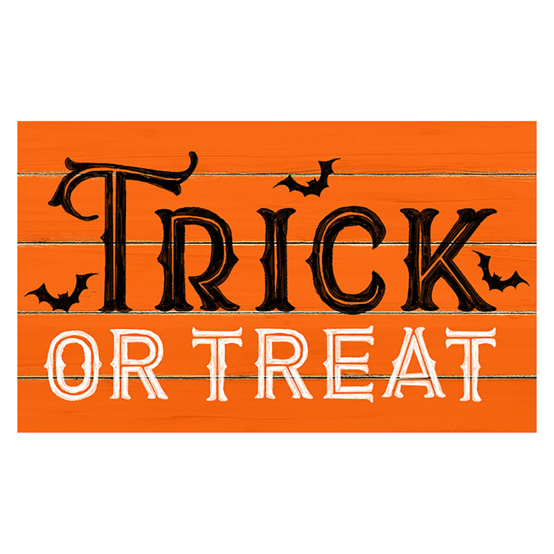 Trick or Treat Rug, 18x30