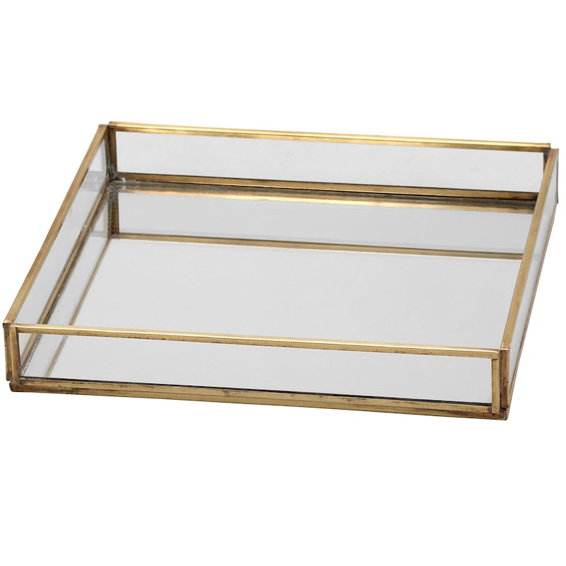 8in. Large Glass Tray