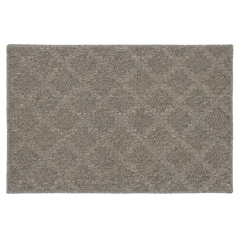 Deco Diamond Geometric Grey Rug, 2x4