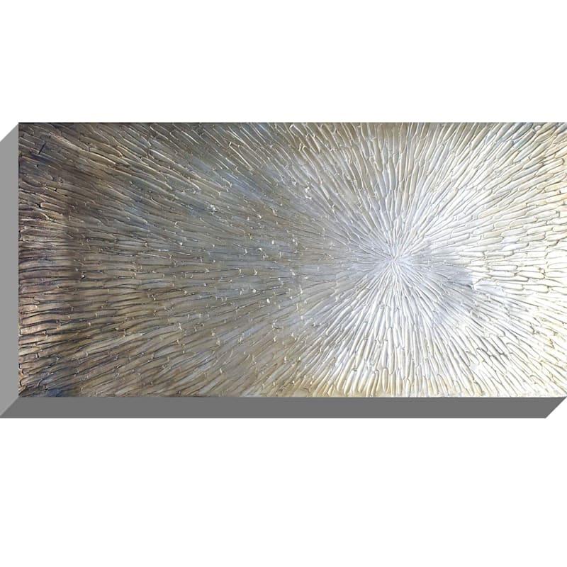 20X40 Starburst Metallic Enhanced Canvas