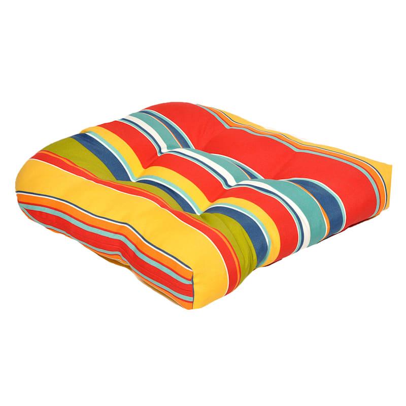 Macrae Garden Outdoor Wicker Seat Cushion