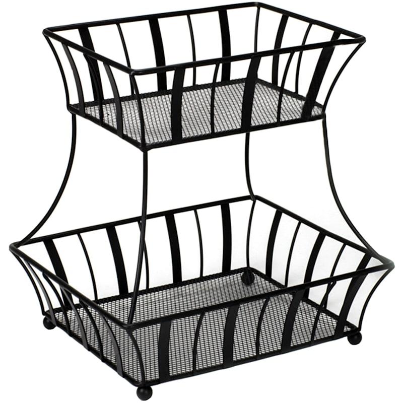 Two Tier Fruit Basket