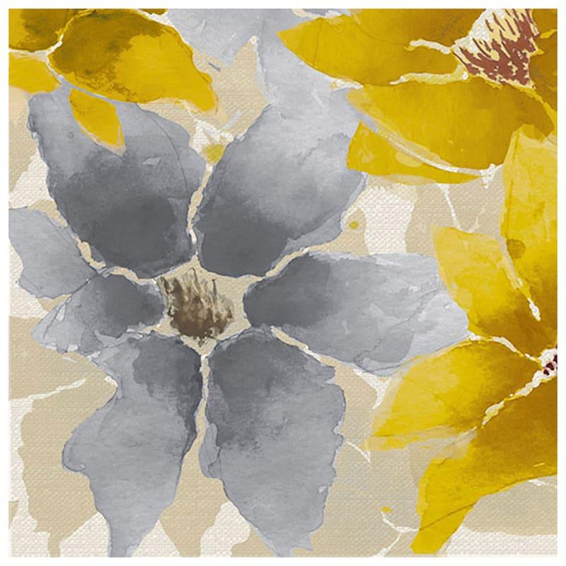 12X12 Floral Canvas