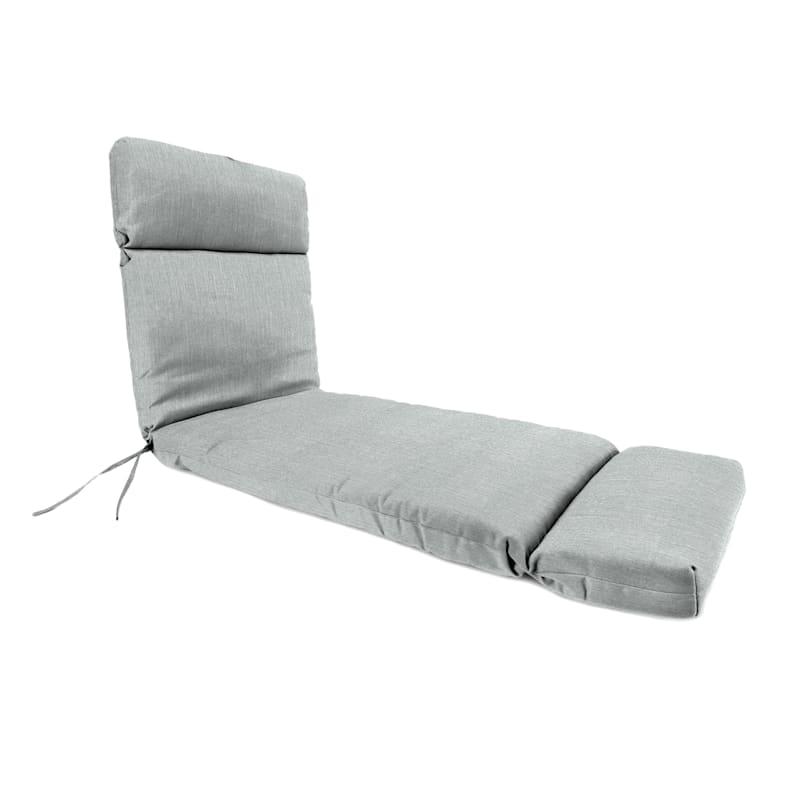 Tahiti Silver Outdoor Chaise Lounge Universal Cushion