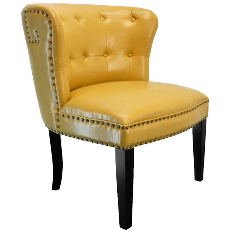 London Mustard Accent Chair