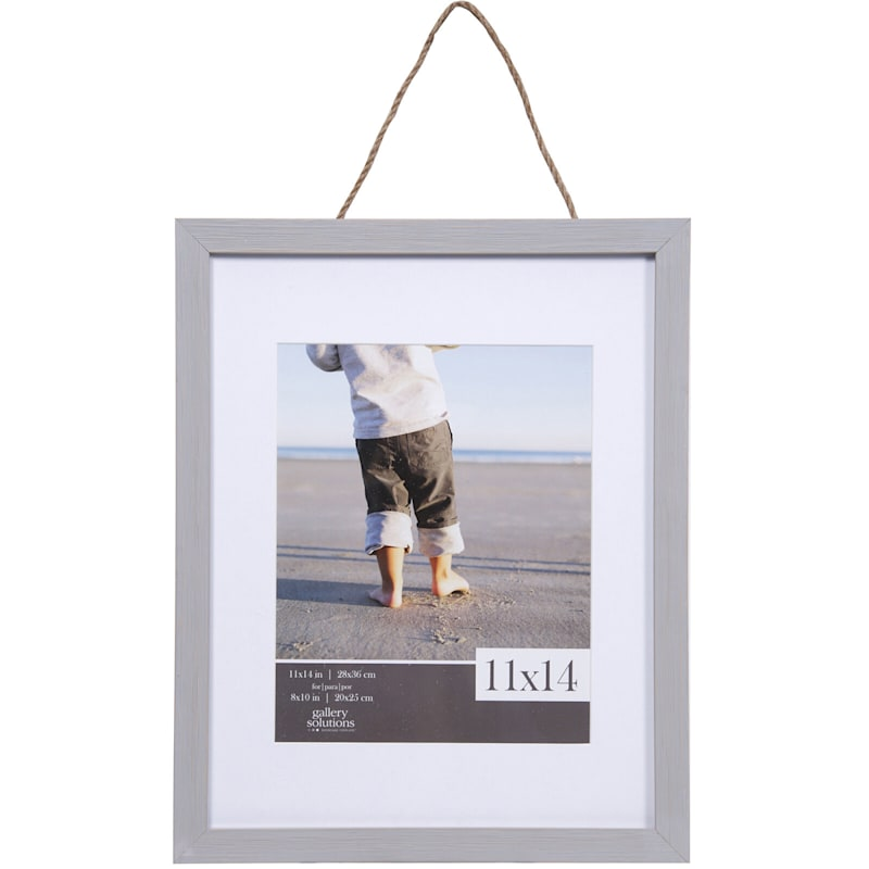 11X14 Matted To 8X10 Hanging Portrait Photo Frame