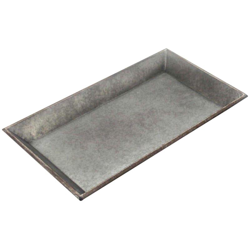 14X7 Metal Galvanized Tray