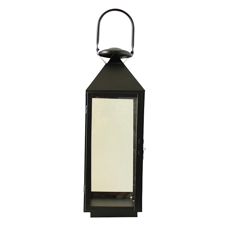 7X21 Black Metal Lantern
