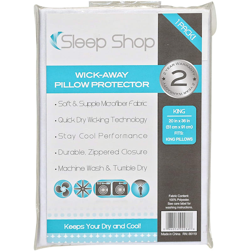 Wickaway Pillow Protector King 20X36
