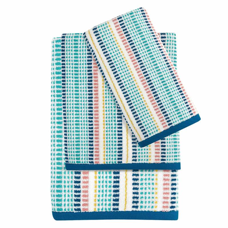 Izzy Striped Bath Towel