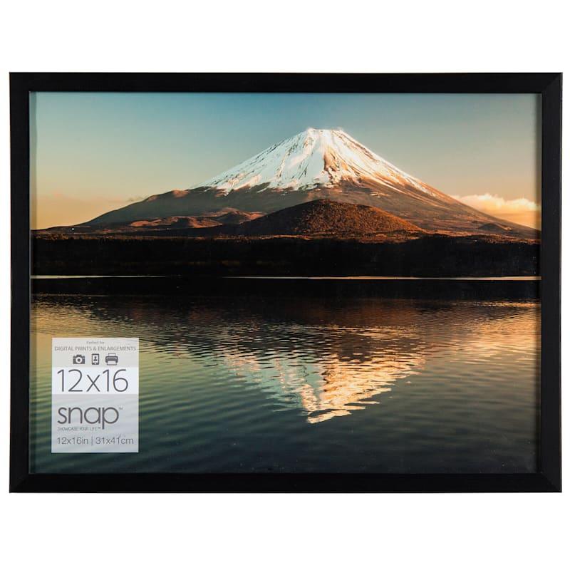 12X16 Black Linear Photo Frame