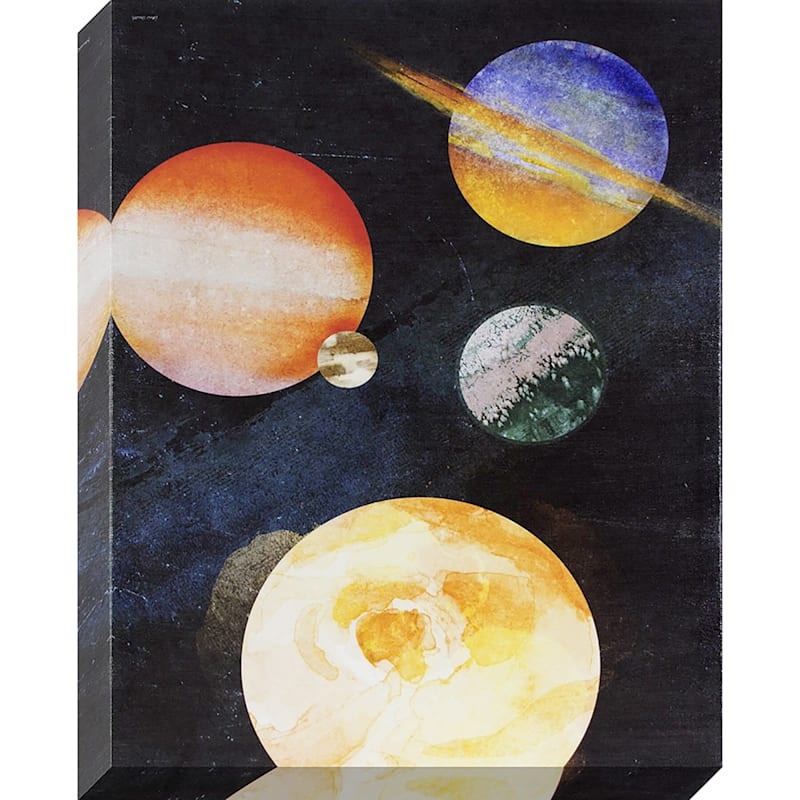 16X20 Outer Space Textured Canvas