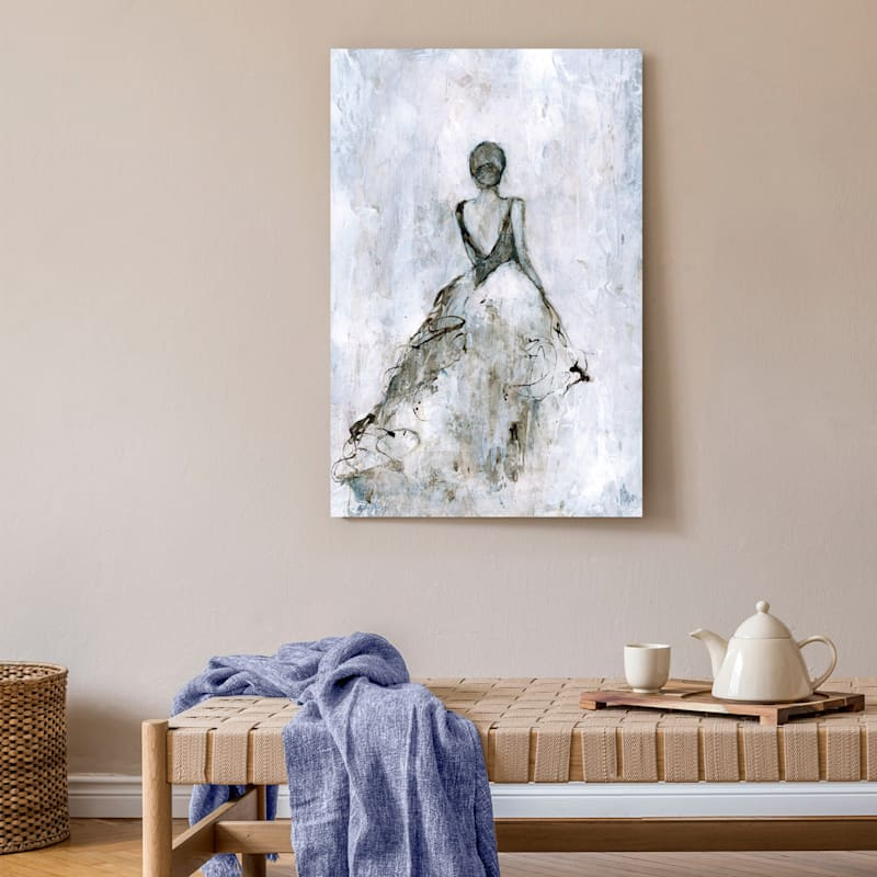 24X36 The Night Was Hers Canvas Art