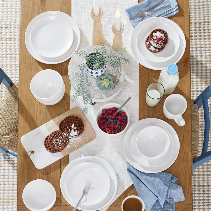 Blanc De Blanc Round Coupe Dinner Bowl