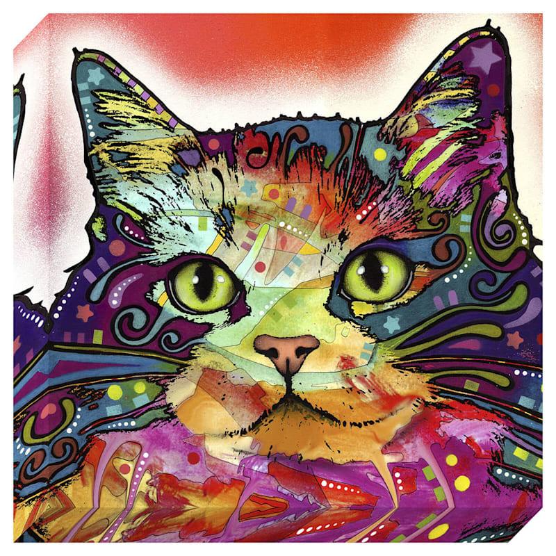 12X12 Cats Textured Canvas