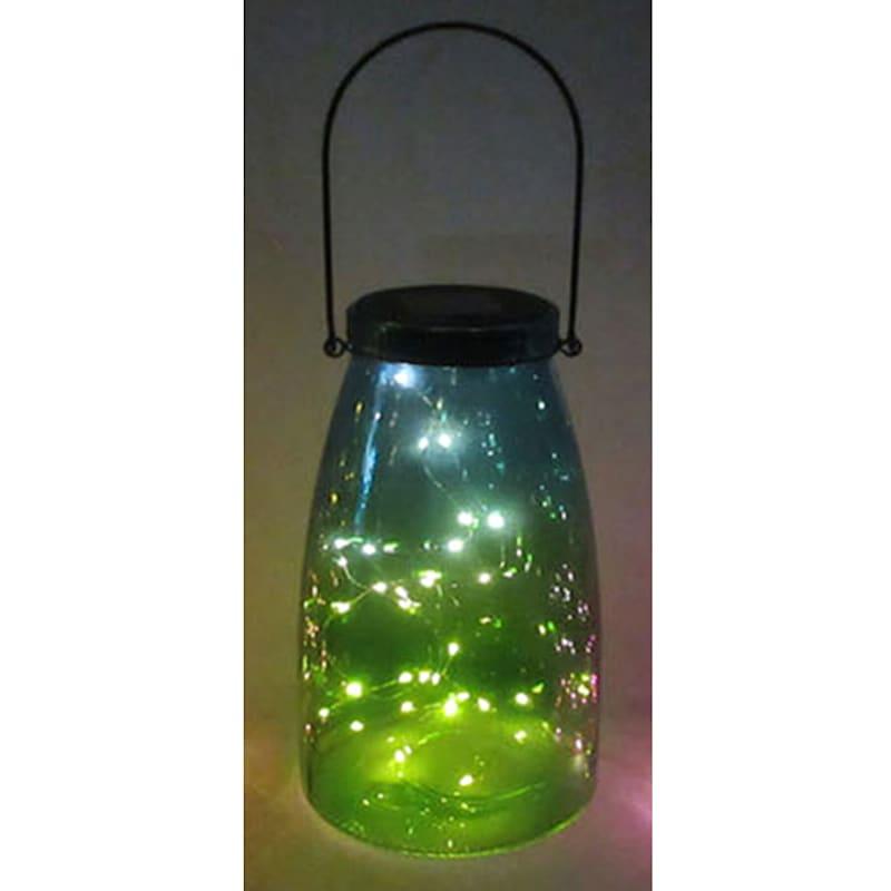 Glass Mason Jar/Solar/String Lights