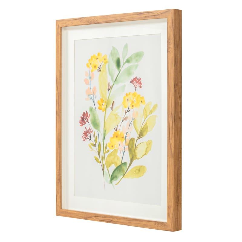 16x20 Framed Spring Sprigs II Print Under Glass