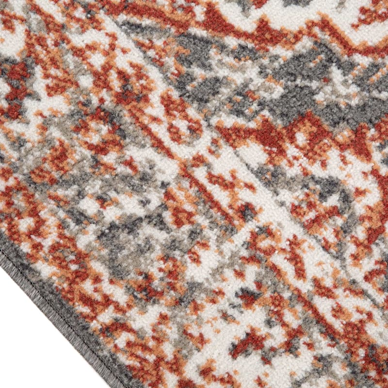 (D513) Norway Genna Grey Rug, 8x10