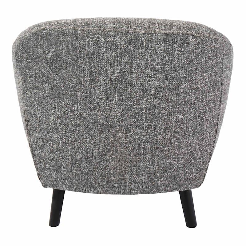 Rockwell Salt & Pepper Mid-Century Modern Accent Chair