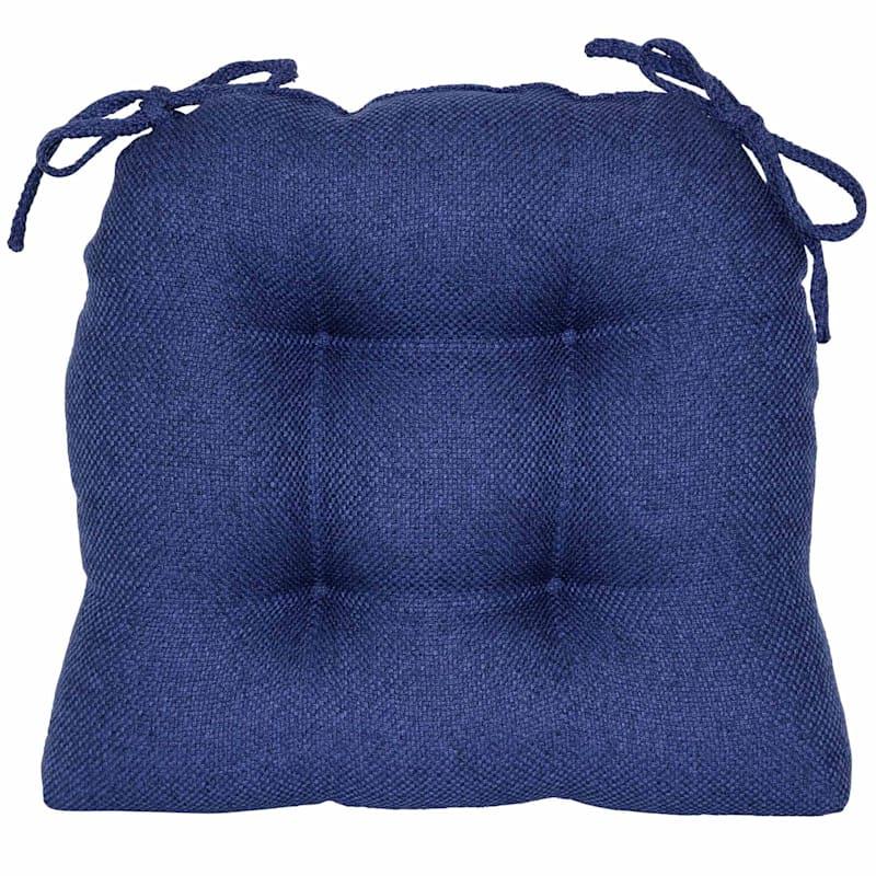 Payson Indigo Waterfall Chair Pad/Ties Indigo