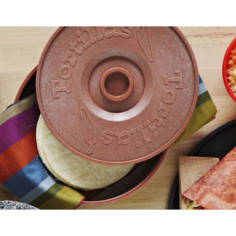 """IMUSA Terracotta Tortilla Warmer, 8.5"""""""