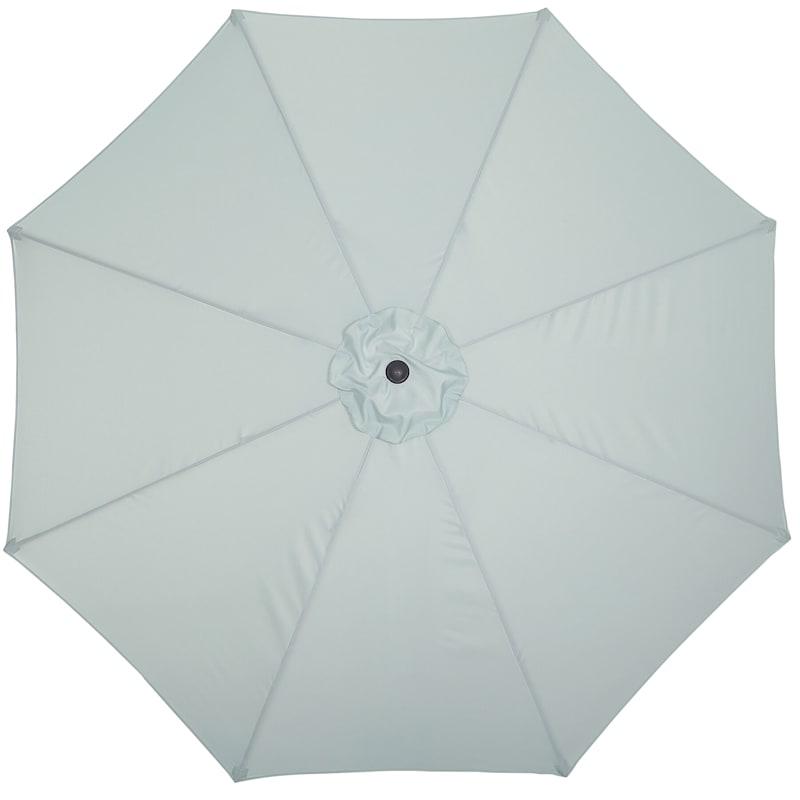 """Spa Blue Round Umbrella, 11"""""""