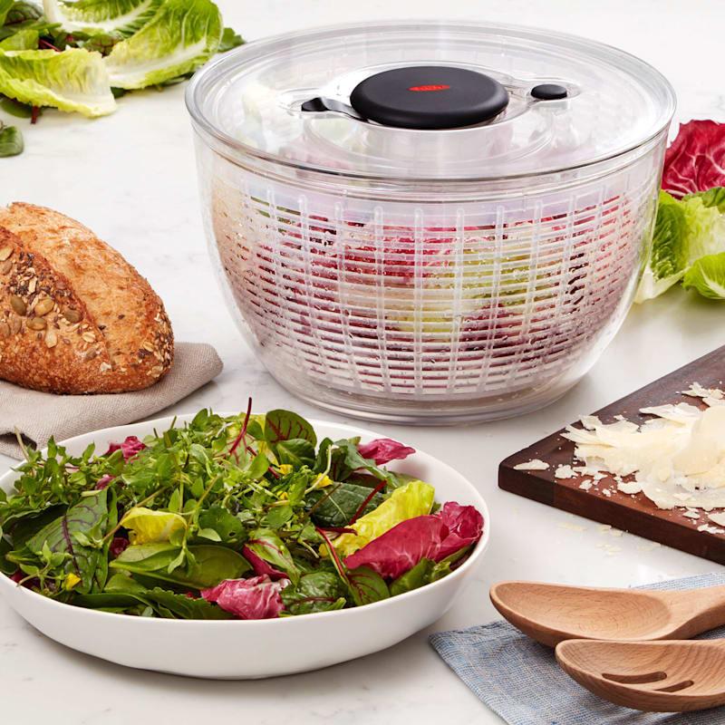 OXO Softworks White Salad Spinner
