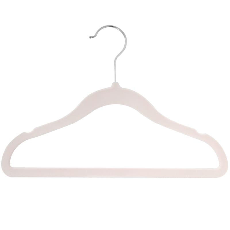 Velvet Kids Pink 10 Piece Hanger