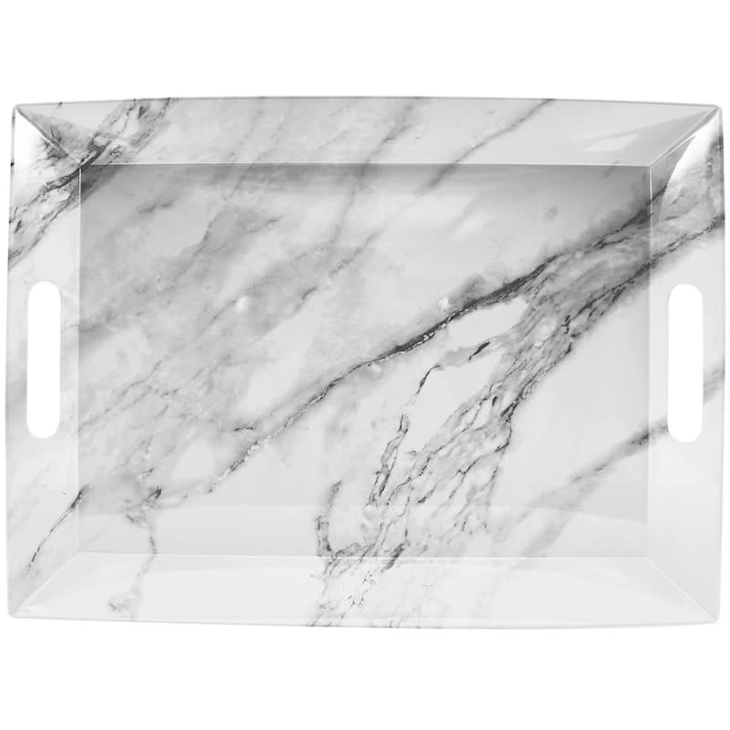 Melamine Marble Pattern 14X19 Tray