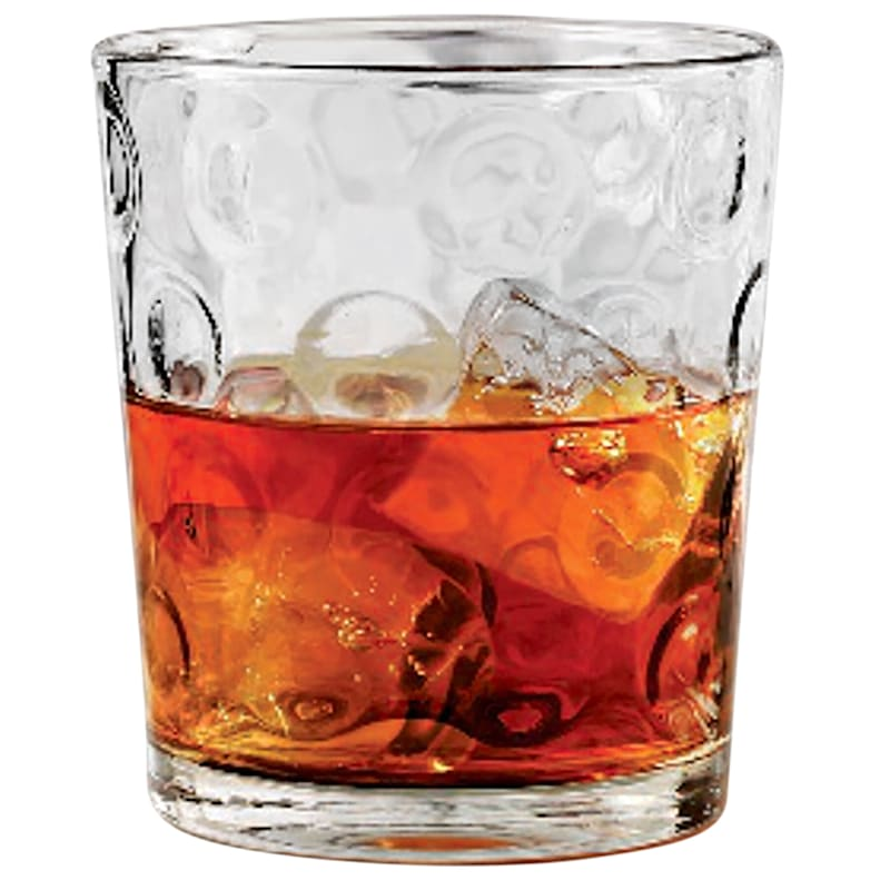 Circle 4-Piece Double Old Fashioned Glass Set 12.5oz