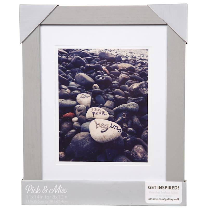 Pick And Mix 11X14 Matted To 8X10 Air Float Mat Linear Photo Frame