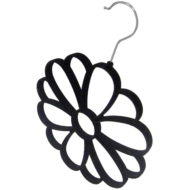 Velvet Black Scarf Hanger