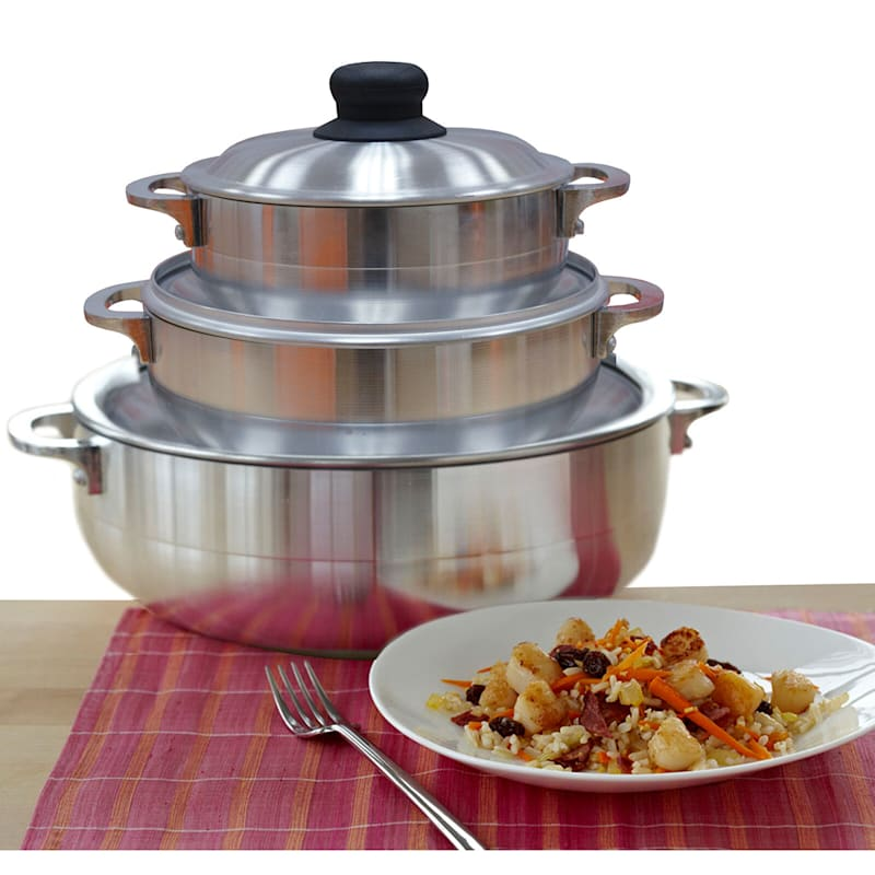 Imusa 3-Piece Caldero Cookware Set